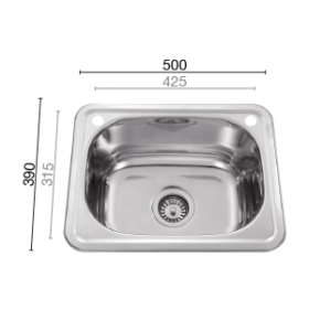 Uptown LT390 Laundry Sink89